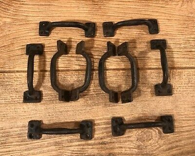 Extra Small Cast Iron Drawer Cabinet Door Handles Knobs (Case of 12) 0170-05127
