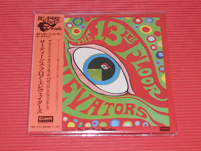 The Psychedelic Sounds Of The 13th Floor Elevators  JAPAN MINI LP CD