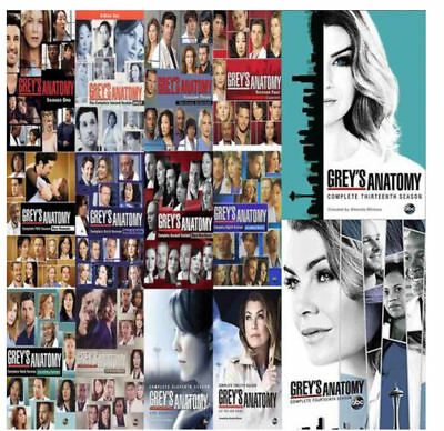 Greys Anatomy Season 1-14 Complete Series New
