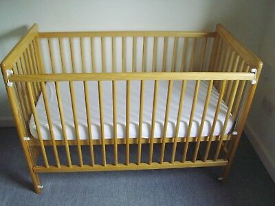Mothercare Ashton Cot with mattress and Allen key (for assembly)
