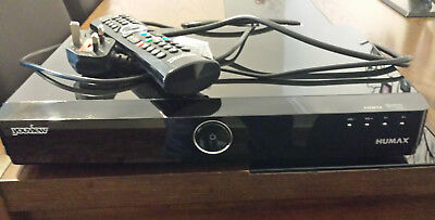 Humax YouView DTR T1000 500GB TV RECORDER HD + Freeview. Excellent condition