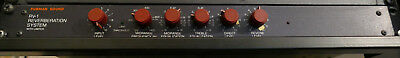 FURMAN RV-1 REVERBERATION - 80er Analog-Hall / Federhall