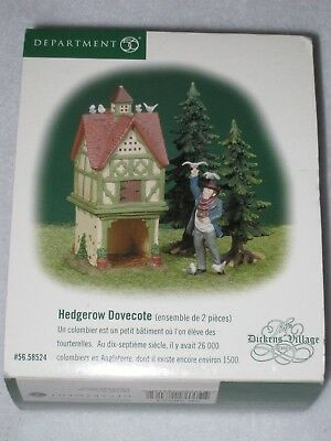 Hedgerow Dovecote Department 56 Dickens Village Set Of 2 2000 56.58524