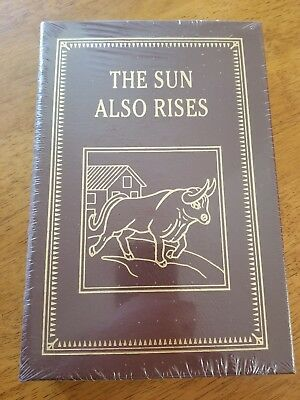 The Sun Also Rises by Ernest Hemingway [Easton Press] Brand New Sealed