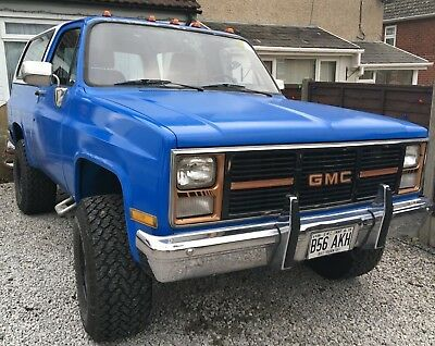 1985 GMC Jimmy Blazer 305 V8