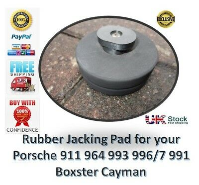 Porsche Boxster 911 Cayman 964 993 996 997 991 - Jack Pad Jacking Hard Rubber