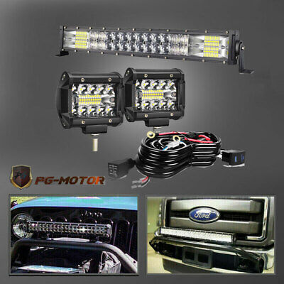 20inch 126w Led Light Bar Work Driving Fog Truck SUV UTE Jeep Ford Off road 20