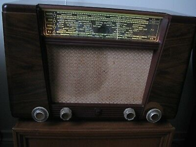 Ancienne TSF Marque Philips BF401 année 1950