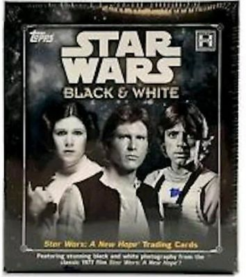 2018 Topps Star Wars A New Hope Black & White Complete Base Set Cards 1-140