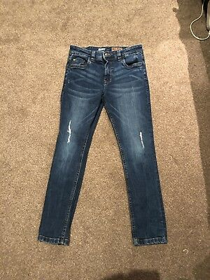 Boy's Distressed Skinny Jeans, Next, Age 10 Years