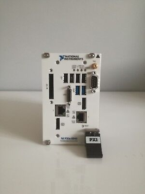 NATIONAL INSTRUMENTS NI PXIe-8840 controller