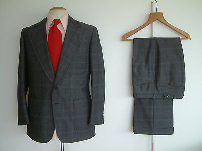 """1970's SUIT..FLARED..40"""" x 34""""..PERMANENT TURN UP'S..JAGGER..SEXTON..TAILOR MADE"""