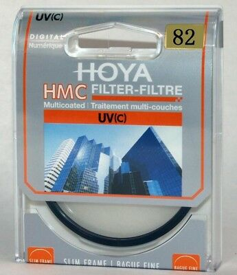 Hot HOYA 82mm  Multicoated  HMC UV(C) Camera Lens Slim Frame Filter