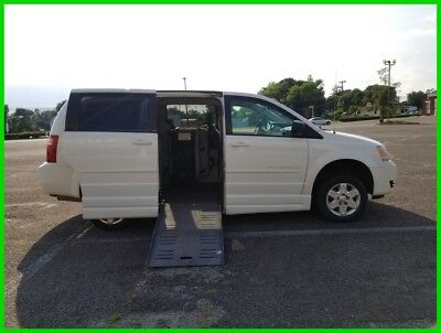 2010 Dodge Grand Caravan SE VAN WHEELCHAIR HANDICAP SIDE ENTRY 2010 SE Used 3.3L V6 12V Automatic FWD