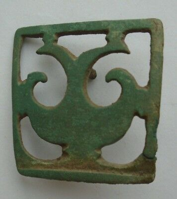 Ancient Roman Military C.3Rd-4Th Century Bronze Leather Mount