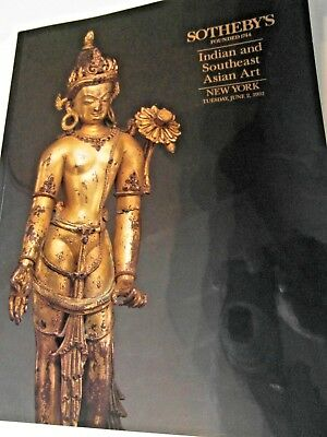 Sotheby's Indian & Southeast Asian Art Auction Catalogue New York 1992. Great!