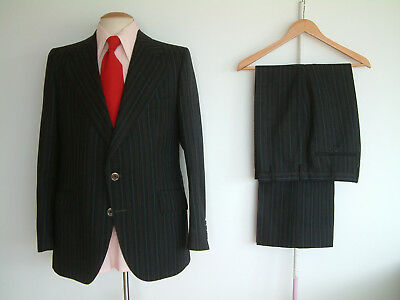"""1970's SUIT..FLARED..42"""" x 36""""..70's DISCO..GLAMTASTIC 70's WEEKEND 2019..BOSS"""