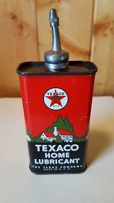 TEXACO Home Lubricant Can