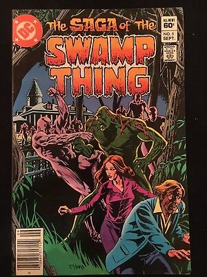 The Saga of the Swamp Thing #5 (VF, DC Comics, 1982)