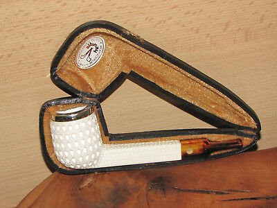 Altinay Block Meerschaumpfeife Pfeife Pipe Made in Turkey 9 mm Filter Mass-Etui