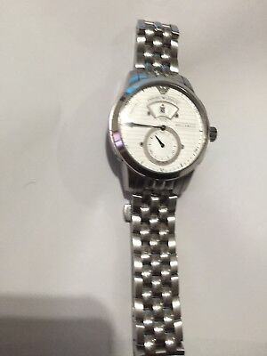 42ea303eb emporio armani meccanico watch men AR-4603 Automatic Stainless Steel  Pre-owned