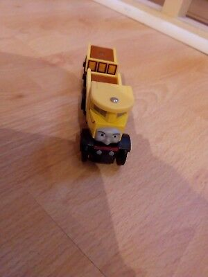 wooden train issabella and trailer compatible with brio bigjigs and thomas