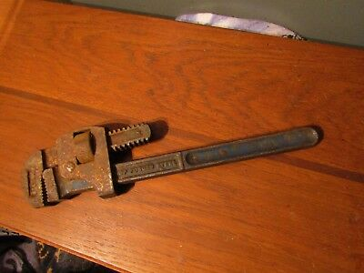 RECORD No.14 ADJUSTABLE WRENCH IN GOOD USED CONDITION