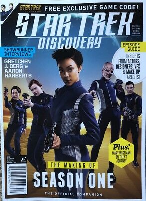 STAR TREK DISCOVERY THE MAKING OF SEASON ONE 2018 NEW MAGAZINE Free Game Code