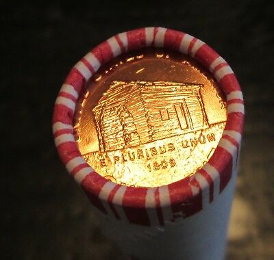 2009-D Lincoln Birth and Early Childhood Cents - Bank Wrapped Roll