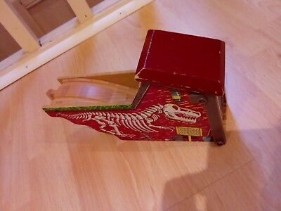 wooden train track dino ramp thomas compatible with brio bigjigs and thomas
