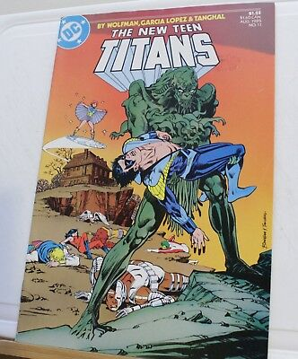 DC the new teen titans #11 1985