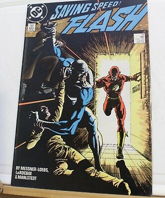 DC comic saving speed the Flash #16 1988