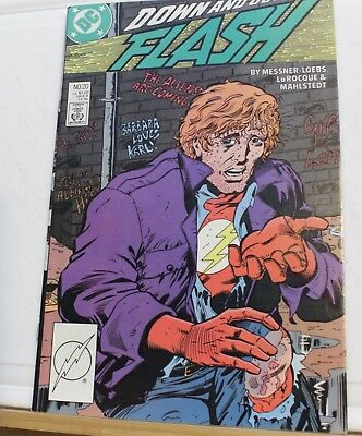 DC comic the Flash #20 1988