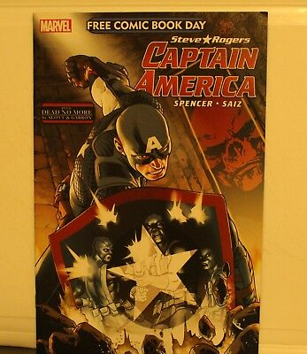 marvel comics free comic book day captain america