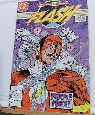 DC comic millennium week 1 the Flash #8 1988