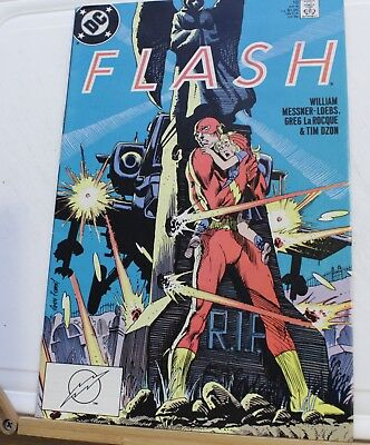 DC comic Flash #18 1988