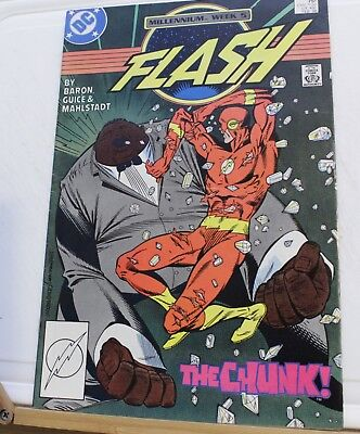 DC comic saving speed millennium week 5 the Flash #9 1988