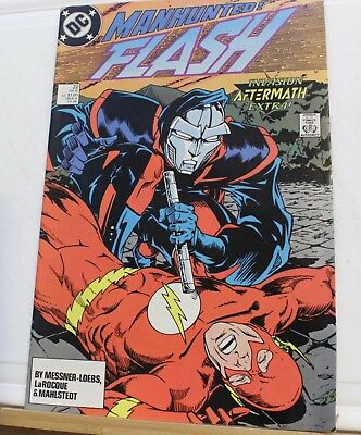 DC comic Flash & manhunter #22 1989