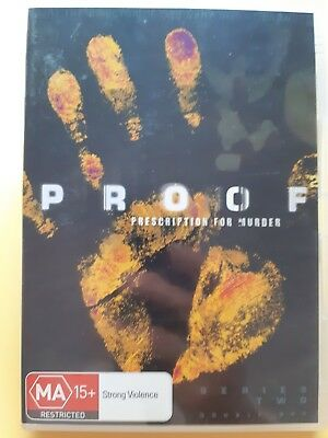 Proof : Season 2 [ 2 DVD Set ] LIKE NEW, Region 4, FREE Next Day Post from NSW