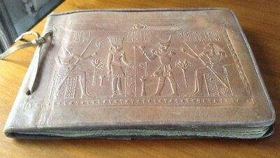 Early 20th Century Egyptian Leather Photograph Album