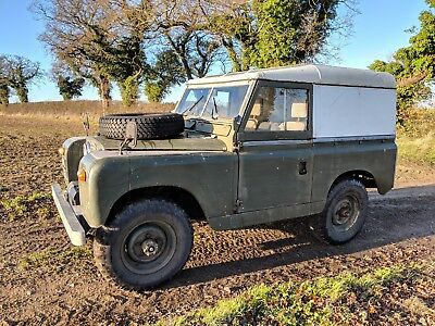 Land Rover Series 2 SWB 1959
