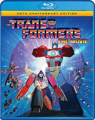 The Transformers: The Movie (30th Anniversary Edition) [New Blu-ray] w slipcover