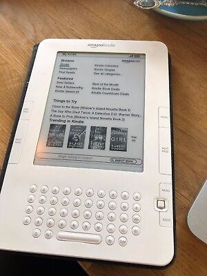 Amazon Kindle (2nd Generation) International, 3G (Unlocked), 6in - 2GB