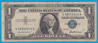 US- Silver certificate- 1 Dollar 1957A