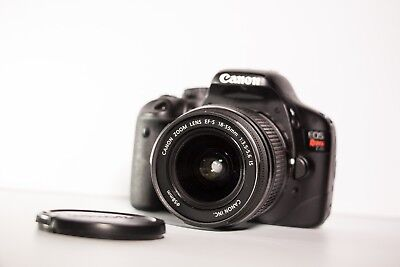 Canon EOS Rebel T2i 550D 18.0M Camera With Kit Lens 18-55mm