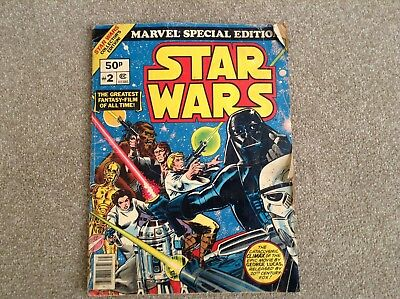 Star Wars Rare Marvel Special Edition Over Sized Comic 1977