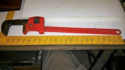 Draper Expert 24 inch Adjustable Pipe Wrench  STILLSON