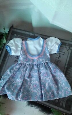 "Vintage reproduction doll dress for 17"" hard plastic doll"