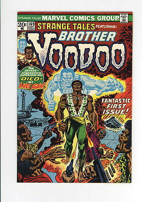 STRANGE TALES #169 - 1st VOODOO BROTHER - KEY ISSUE  1973 - BEAUTIFUL SHAPE