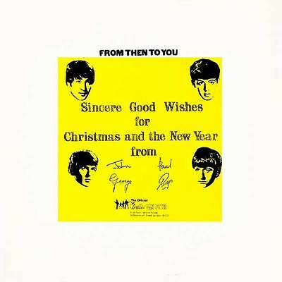 The Beatles From Then To You Christmas CD!